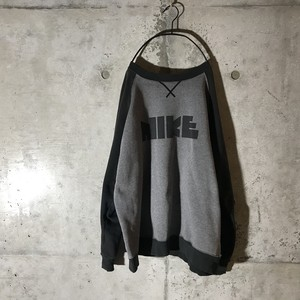 [NIKE]brand name printed sweat