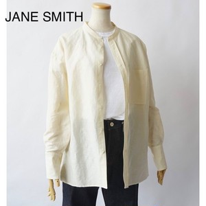JANE SMITH/ジェーンスミス・Banded Collor Shirts