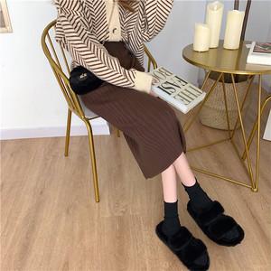 〈カフェシリーズ〉カフェに行きたくなるニットスカート【cafe knit skirt】