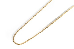 【316L twist chain necklace】 / GOLD