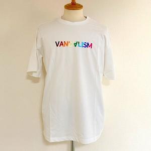 VANDALISM Rainbow T-shirts White