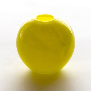 Balloon vase  -neon yellow- <受注生産>