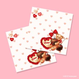 Bon Bon Chocolat Bear - メモパッド