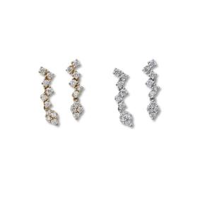 jewelG <LadyLook> ピアス K18/ダイヤモンド