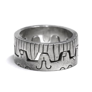 Lisa Jenks Sterling Silver Docking Ring