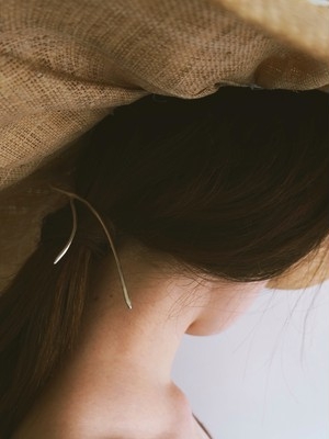 pine needle hair accessory