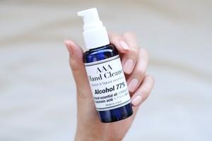 AAA HAND CLEANER 60ml 植物性発酵アルコール77%
