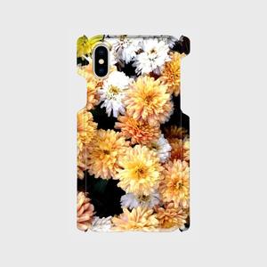 スマホケース★オレンジの花