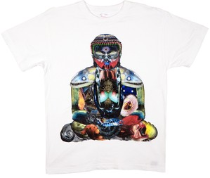 KOTA MIYAMOTO  Collage T-shirt『大仏 × 深海魚』