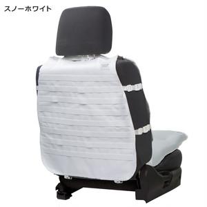 【HykeToA2】カスタムシートカバー(ターポリン) Wクッション付き / スノーホワイト(79016)