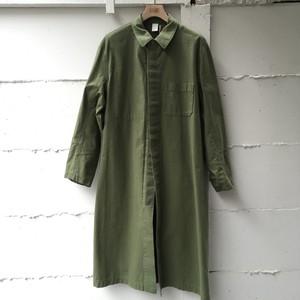 organic nep yarn shop coat:TA63-FA022-16AW