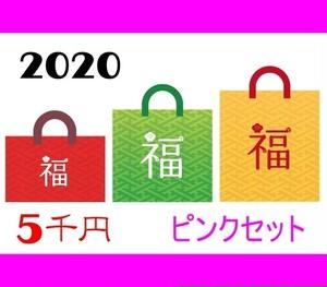 2020 セカンドステージ 5千円ジグ福袋ピンクセット
