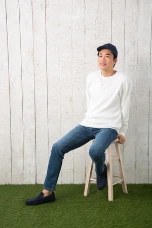 ヘビーワッフル ロングスリーブ Tシャツ 無地 長袖 綿100% 10.3オンス | S,M,L,XLサイズ、 メンズファッション、お揃い ・ ペアルック ◎