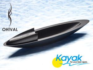 "OH!VAL CIGAR ASHTRAY ""KAYAK"" / オーバル 南部鉄器製 シガートレイ カヤック(葉巻用灰皿)"