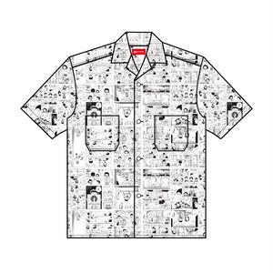 BOKU HA TANOSII × じゃりン子チエ / UCHI HA TANOSII 開襟シャツ
