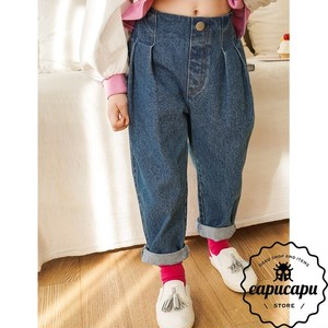 [sold out] double tuck denim ダブルタック デニムパンツ