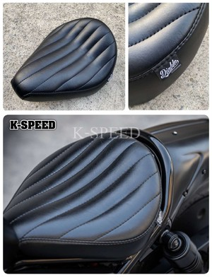 【RB0120】Daiblo Single seat with straight pattern for Rebel 300(JP250)&500