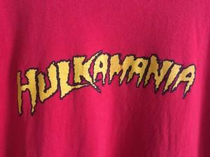 HULKAMANIA ハルカマニアTシャツ ハルクホーガン プロレス 格闘技
