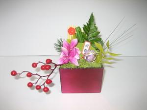 花いずもの和飾り (アーティフィシャルフラワー:花いずもの壽花) 「Koniwa」
