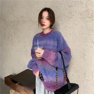 【9月下旬入荷予定】グラデーションセーター
