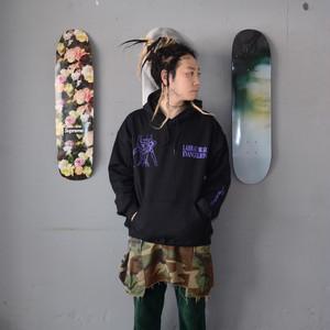 LABRAT×EVANGELION×YAR type01 hoodie (BLACK)