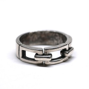 Vintage Mexican Chain Link Ring
