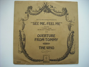 """【7""""】WHO / SEE ME, FEEL ME"""