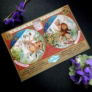 十二星座カード(双子座 蟹座)