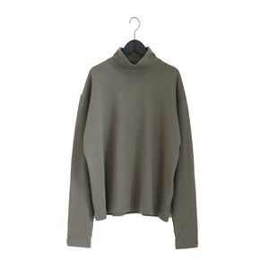 MY / L/S V TURTLENECK T-SHIRTタートルネックカットソー【193-61102】