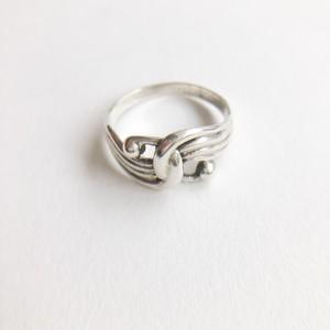 silver 925 design ring #11[r-113]