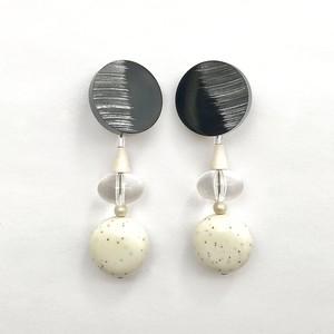 Button Earring E