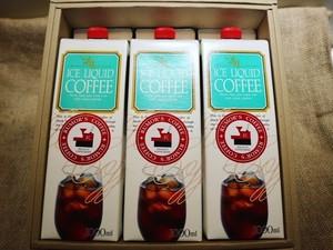 【ギフト】リキッドアイスコーヒー3本セット