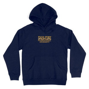 "PASS~PORT""INTER SOLID"" HOOD NAVY"