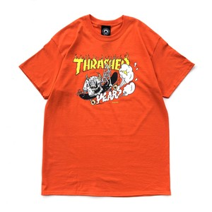 THRASHER - 40 YEARS Tee - Design by NECKFACE