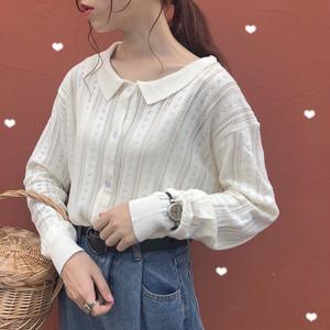 【アウター】日系スウィートファッション長袖カーディガン