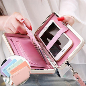Wallet PU Leather Wallet Hasp Long Wallet Pocket (FO99-2922318)