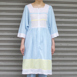 70's Stripe Design Dress