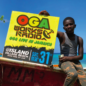 【予約受付中!!2018年5月4日発売!!】OGA WORKS RADIO MIX VOL.8 -OGA LIVE IN JAMAICA- MIXED BY OGA JAH WORKS