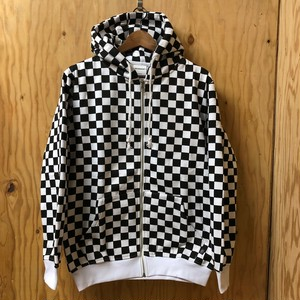 INTERFACE CHECKER ZIP PARKA