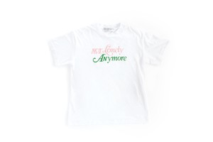 Not Lonely Anymore  Crew Neck Tee White/Pink