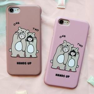 hands up phone case / 女の子 男の子 スマホケース iphone galaxy LG 韓国雑貨