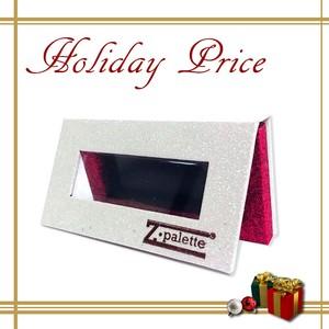 【HOLIDAY PRICE!!】限定品 Zパレット メイクアップパレット ミニ(カラー:ホワイトホットピンクグリッター/サイズ:MINI) by Z palette ZP-Z70002