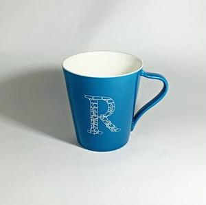 ROBROY mug cup - マグカップ 青 -