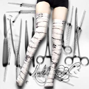 MDN-001  Mad Science knee high socks<包帯/Bandage>