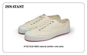 #702 OLD-NEO natural(white+red sole) INN-STANT インスタント 【税込・送料無料】