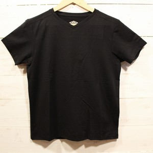 umbro Locker Room Limited Stretch S/S V-Neck BLACK