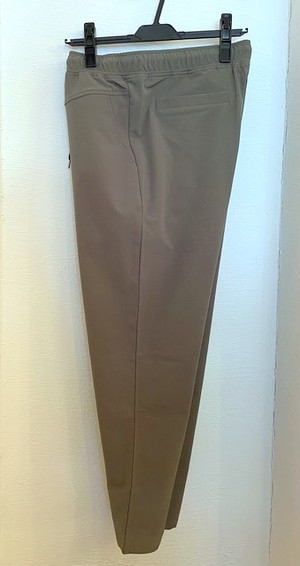 Stretch Nylon Ankle Tapered Pants Olive