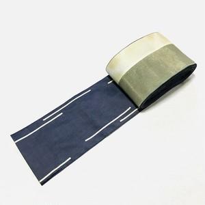 シルクデニム半巾帯