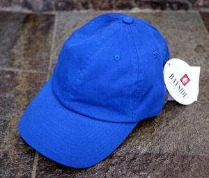 WASHED TWILL CAP RoyalBlue