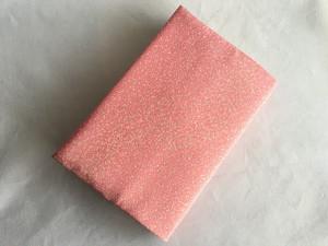 未使用江戸小紋着物反物から作った絹の文庫本ブックカバー